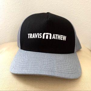Travis Mathew grey black Life On Tour hat NEW